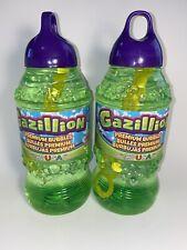 2 X Gazillion 2 Liters Each Wand Bubble Solution Liquid Soap Refill Bottles