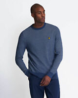 Lyle and Scott Mens Birdseye Knitted Jumper - Cotton