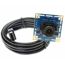 2.8MM 720P Linux USB Camera Module OV9712 Color Support Audio IR Cut IR LED New