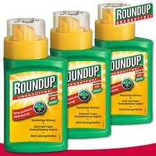 Roundup Unkrautfrei 3 x 250 ml LB Plus Konzentrat Löwenzahn Melde Wegerich Rispe
