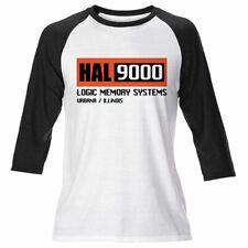 Mens HAL 9000 Long Sleeve 2001 Space Oddyssey Retro Stanley Kubrick T Shirt Film