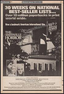 THE AMITYVILLE HORROR __Original 1979 Trade AD / poster__Jay Anson_Margot Kidder