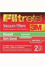 Filtrete 66829 Bissell Dirt Devil Hand-Vac Lightweight Filters - 2 Filters