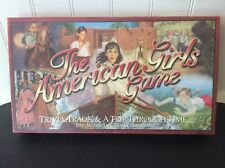 American Girls Game~Trivia, Trade & A Trip Through Time~Pewter Pieces~Complete