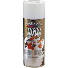 Duplicolor DE1602 Engine Enamel Paint, Universal White, 12 Oz Can