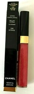 Chanel Glossimer Myriade #106 Levres Scintillantes Lip Gloss NEW IN BOX