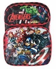"New Marvel Avengers 16"" Boys School Large Backpack Book Bag A09451"
