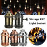 Vintage E27 Edison Retro Bulb Socket Lamp Holder pendant switch Light