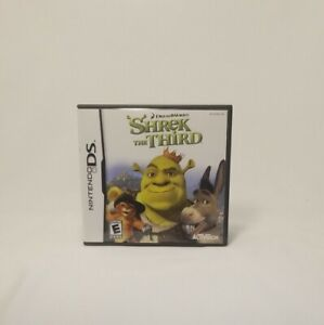 Shrek the Third (Nintendo DS, 2007) Complete & Tested