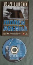 HIDDEN AGENDA dvd Ned. ondertiteld English Audio PAL region 2 Dolph Lundgren