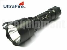 Ultrafire C8 Cree XM-L T6 5Mde LED 18650 Flashlight SET