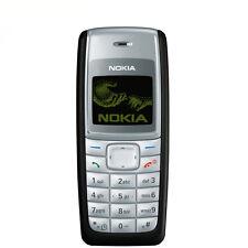NUOVO ECONOMICO Nokia 1110i bar telefoni sbloccato Cellulare Nera MIGLIOR PREZZO