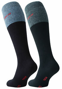 2 Pairs Workforce Mens Full Terry Knee Socks Thermo Tech Thick Boot Socks