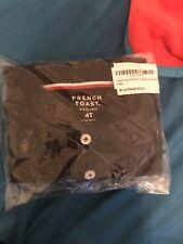 Boys French Toast Ls Navy Polo New Shirt 4T
