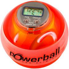 Powerball Kernpower Max Red mit Drehzahlmesser | Unterarm Handtrainer Wristball