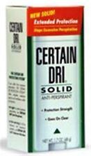 CERTAIN DRI Anti-Perspirant Solid 1.7 oz