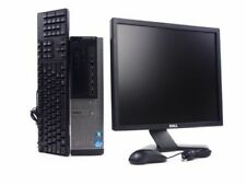 "Dell Optiplex 790 Desktop Computer PC Win 7 Intel i5 Quad Core 8GB 19"" Monitor"