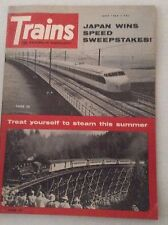 Trains Magazine Japan Wins Speed Sweepstakes June 1965 011117RH