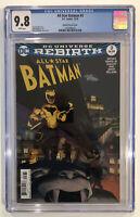 All Star Batman #3 CGC 9.8 Shalvey Variant Cover John Romita, Jr.