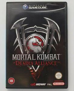Mortal Kombat: Deadly Alliance (GameCube Game) COMPLETE Australian Seller
