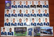 SQUADRA COMPLETA INTER 29 FIGURINE CALCIATORI PANINI 2019-2020