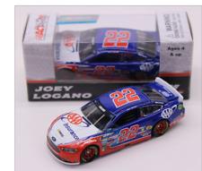 NASCAR 2017 JOEY LOGANO #22 AAA INSURANCE 1/64 CAR