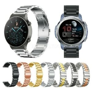 For Huawei Watch GT 2 Pro Strap Stainless Steel Watch Band