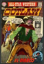 All-Star Western #2 - 1st App of El Diablo - Neal Adams Cover - DC (1970) FN/VF
