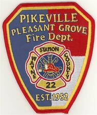 North Carolina Pikeville Pleasant Grove Station 22 Patch