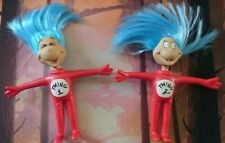 Cat In The Hat Thing 1 & Thing 2 Bendy Figures Dr Seuss