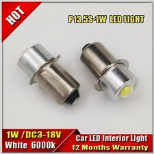 4x1W 3-18V P13.5S Led Flashlight Replacement bulb PR2 PR3 PR4 Lantern Work Light