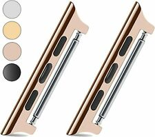Apple Watch Series 5 4 3 Strap Band Steel Adapter Spring Bar Pins Connector New