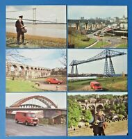 Set of 6 NEW Post Office Royal Mail Postcards Series NEPR 12 BRIDGES BP1