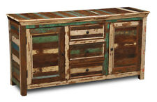 Living Room Furniture Reclaimed Indian Sheesham Large Sideboard (rf4)
