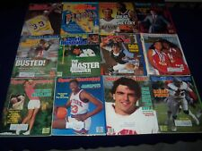 1980S SPORTS ILLUSTRATED MAGAZINE LOT OF 40 ISSUES - GREAT SPORTS COVERS - PB 48