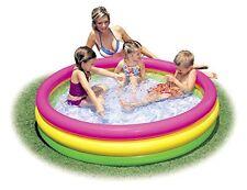 Intex Kiddie Pool Summer Inflatable Outdoor Home Garden Yard Toddler Kids Play