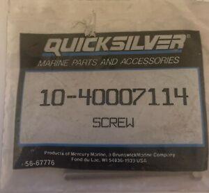 10-40007114 QUICKSILVER MARINE SCREW UK SELLER FREE POSTAGE