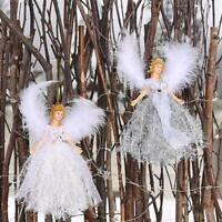 Weihnachten Engel Puppe Weihnachten Baum Hängen Ornamente 19*12cm T5H2