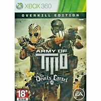 ARMY OF TWO THE DEVILS CARTEL OVERKILL EDITION XBOX 360 ENGLISH ESPAÑOL FRANÇAIS