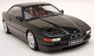 Otto 1/18 Scale - BMW 850 CSi E31 1990 Black Resin Model Car