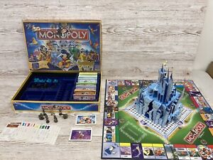 Parker Brothers Monopoly Disney Pop Up Castle Edition Gold Tinkerbell