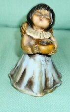 Vintage Thun Italy Ceramic Singing Angel Candle Holder