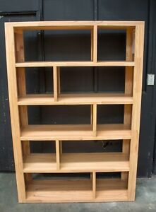 Marriot Bookcase - Solid Mountain Ash and Veneer - 1265mm Wide
