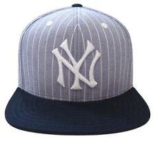 NEW AMERICAN NEEDLE NEW YORK YANKEES DEMO STRAP BACK BASEBALL CAP HAT