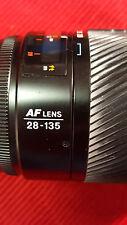 Konica Minolta Maxxum 28-135mm f/4-4.5 AF Lens Minolta/Sony With Filter