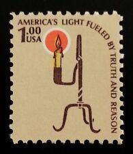 1979 $1 Americana Issue, Rush Lamp Scott 1610 Mint F/VF NH