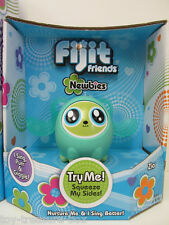 """GREEN Fijit Friends Newbies """"ZIA"""" - She Sings, Purrs & Giggles - Ages 6 & up"""
