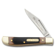 Schrade Old Timer 55th Ann 2013 Edition Peanut Pal 12Ot Saw-Cut Delrin Knife New