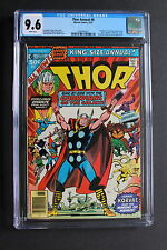 THOR ANNUAL #6 early GUARDIANS OF THE GALAXY 1977 Second app KORVAC CGC NM+ 9.6