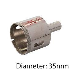 PRO 35mm Diamond Dust Core Trapano & Shank – piastrelle, marmo, vetro HOLE SAW CUTTER
